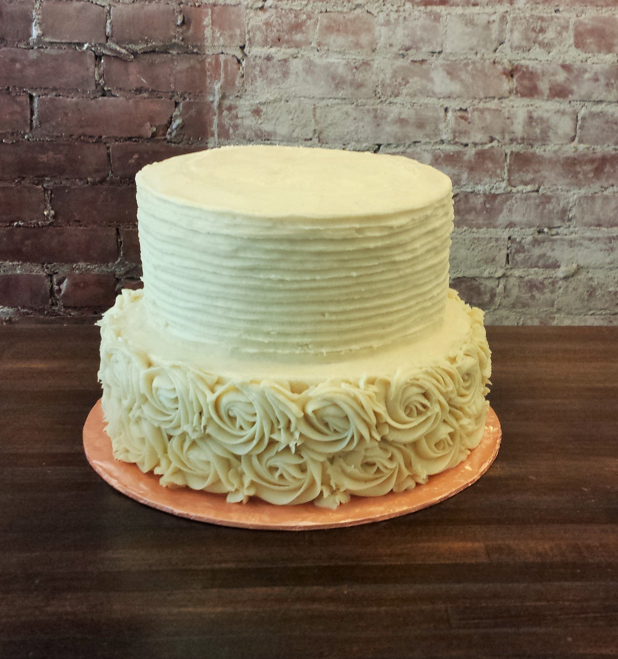 Country Western Style Wedding Cakes