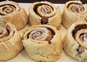 Cinnamon Roll Scones edit